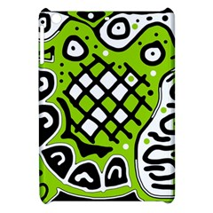Green High Art Abstraction Apple Ipad Mini Hardshell Case by Valentinaart