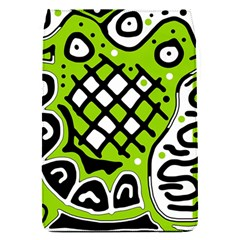 Green High Art Abstraction Flap Covers (s)  by Valentinaart