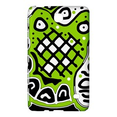 Green High Art Abstraction Samsung Galaxy Tab 4 (7 ) Hardshell Case  by Valentinaart