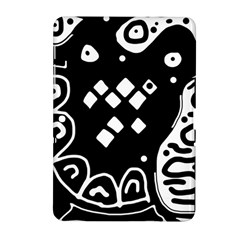 Black And White High Art Abstraction Samsung Galaxy Tab 2 (10 1 ) P5100 Hardshell Case  by Valentinaart
