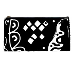 Black And White High Art Abstraction Pencil Cases