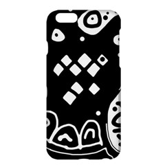 Black And White High Art Abstraction Apple Iphone 6 Plus/6s Plus Hardshell Case