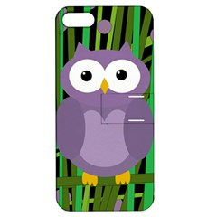 Purple Owl Apple Iphone 5 Hardshell Case With Stand by Valentinaart