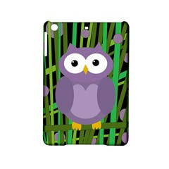 Purple Owl Ipad Mini 2 Hardshell Cases by Valentinaart