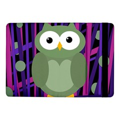 Green And Purple Owl Samsung Galaxy Tab Pro 10 1  Flip Case by Valentinaart