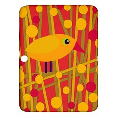 Yellow Bird Samsung Galaxy Tab 3 (10 1 ) P5200 Hardshell Case  by Valentinaart