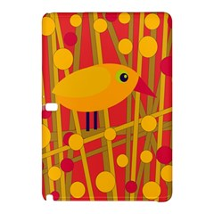 Yellow Bird Samsung Galaxy Tab Pro 12 2 Hardshell Case by Valentinaart