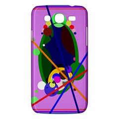 Pink Artistic Abstraction Samsung Galaxy Mega 5 8 I9152 Hardshell Case  by Valentinaart