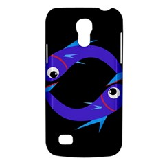 Blue Fishes Galaxy S4 Mini by Valentinaart
