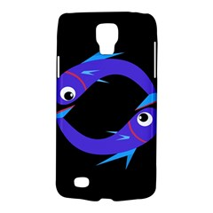 Blue Fishes Galaxy S4 Active by Valentinaart