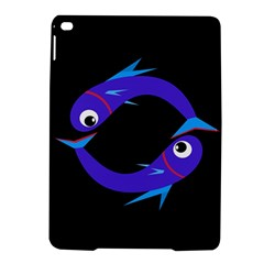 Blue Fishes Ipad Air 2 Hardshell Cases by Valentinaart