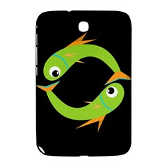 Green Fishes Samsung Galaxy Note 8 0 N5100 Hardshell Case  by Valentinaart