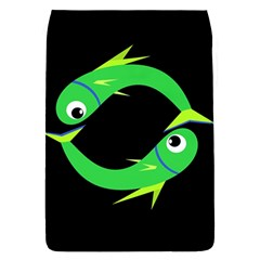 Green Fishes Flap Covers (s)