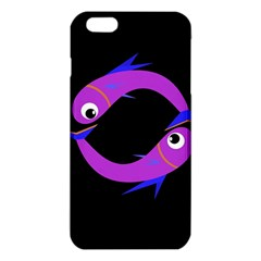 Purple Fishes Iphone 6 Plus/6s Plus Tpu Case by Valentinaart