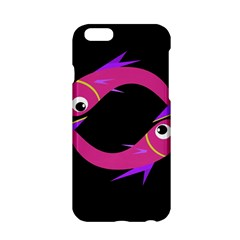 Magenta Fishes Apple Iphone 6/6s Hardshell Case