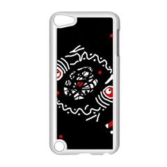 Abstract Fishes Apple Ipod Touch 5 Case (white) by Valentinaart