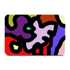Colorful Abstraction By Moma Plate Mats by Valentinaart