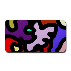 Colorful Abstraction By Moma Medium Bar Mats by Valentinaart