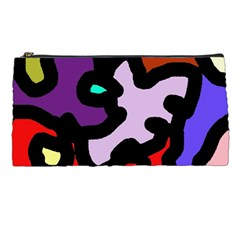 Colorful Abstraction By Moma Pencil Cases by Valentinaart