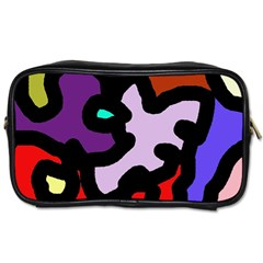 Colorful Abstraction By Moma Toiletries Bags 2 Side by Valentinaart