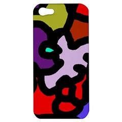 Colorful Abstraction By Moma Apple Iphone 5 Hardshell Case