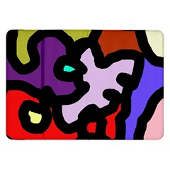 Colorful Abstraction By Moma Samsung Galaxy Tab 8 9  P7300 Flip Case by Valentinaart
