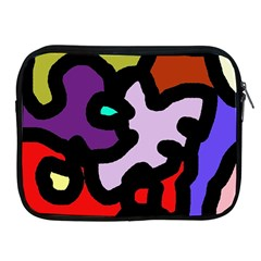 Colorful Abstraction By Moma Apple Ipad 2/3/4 Zipper Cases by Valentinaart