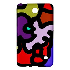 Colorful Abstraction By Moma Samsung Galaxy Tab 4 (8 ) Hardshell Case  by Valentinaart