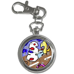 Abstract Comic Key Chain Watches by Valentinaart