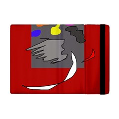 Red Abstraction By Moma Ipad Mini 2 Flip Cases by Valentinaart