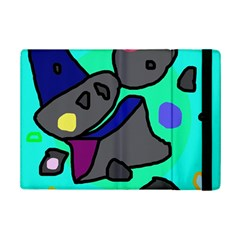 Blue Comic Abstract Ipad Mini 2 Flip Cases by Valentinaart