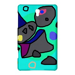 Blue Comic Abstract Samsung Galaxy Tab S (8 4 ) Hardshell Case  by Valentinaart