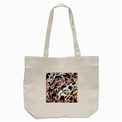 Colorful Chaos By Moma Tote Bag (cream) by Valentinaart