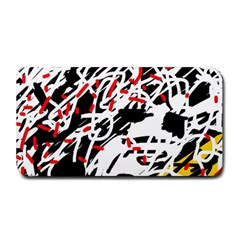 Colorful Chaos By Moma Medium Bar Mats by Valentinaart