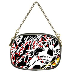 Colorful Chaos By Moma Chain Purses (one Side)  by Valentinaart