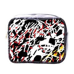 Colorful Chaos By Moma Mini Toiletries Bags by Valentinaart