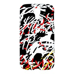 Colorful Chaos By Moma Samsung Galaxy S4 I9500/i9505 Hardshell Case by Valentinaart
