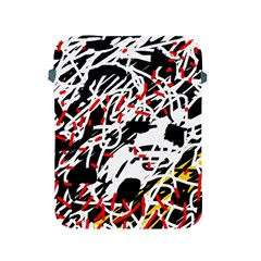 Colorful Chaos By Moma Apple Ipad 2/3/4 Protective Soft Cases by Valentinaart