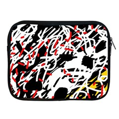 Colorful Chaos By Moma Apple Ipad 2/3/4 Zipper Cases by Valentinaart