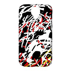Colorful Chaos By Moma Samsung Galaxy S4 Classic Hardshell Case (pc+silicone) by Valentinaart
