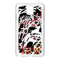 Colorful Chaos By Moma Samsung Galaxy Note 3 N9005 Case (white) by Valentinaart