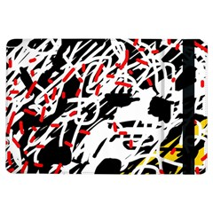 Colorful Chaos By Moma Ipad Air Flip by Valentinaart