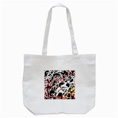 Colorful Chaos By Moma Tote Bag (white) by Valentinaart