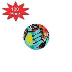 Abstract Animal 1  Mini Buttons (100 Pack)  by Valentinaart