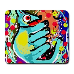 Abstract Animal Large Mousepads by Valentinaart