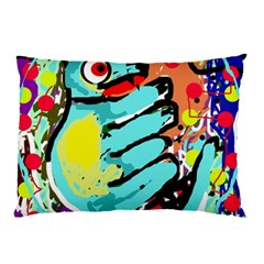 Abstract Animal Pillow Case by Valentinaart