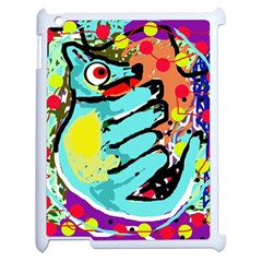 Abstract Animal Apple Ipad 2 Case (white) by Valentinaart