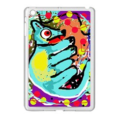 Abstract Animal Apple Ipad Mini Case (white) by Valentinaart