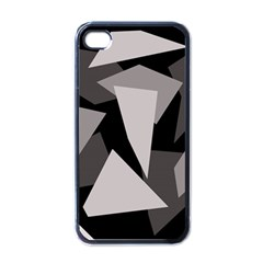 Simple Gray Abstraction Apple Iphone 4 Case (black) by Valentinaart