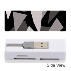 Simple Gray Abstraction Memory Card Reader (stick)  by Valentinaart